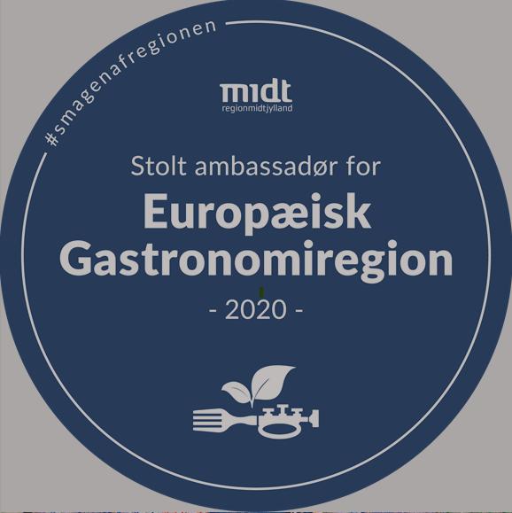 Axel Månsson som Ambassadør for Europæisk Gastronomiregion Midtjylland