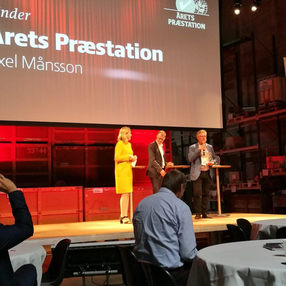 Årets præstation 2017: Axel Månsson