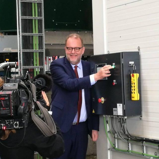 Den første økologiske biogas fra NatureEnergy Månsson